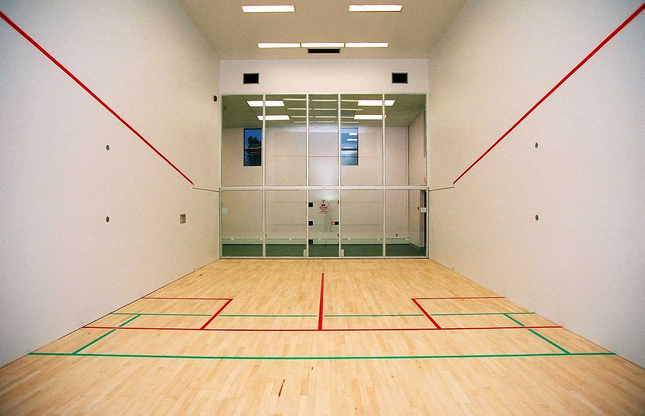 Global sport products for Racquetball court diagram